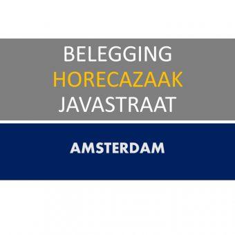 AMSTERDAM JAVASTRAAT HORECA  BELEGGING