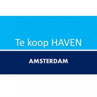 AMSTERDAM HAVEN MET RESTAURANT TE KOOP